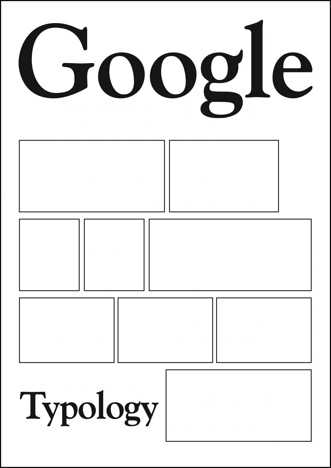 Google Typology